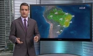 Confira a previsão do tempo para todo o país nesta terça-feira (26)