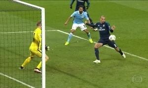 Manchester City e Real Madrid ficam no 0 a 0 pela semifinal da Liga dos Campeões