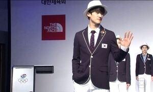 Coreia do Sul surpreende ao lançar uniforme para as Olimpíadas do Rio