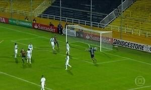 Grêmio é eliminado da Taça Libertadores