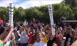 Tocha olímpica se despede de Minas Gerais