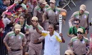Tocha Olímpica percorre cidades mineiras neste domingo (15)