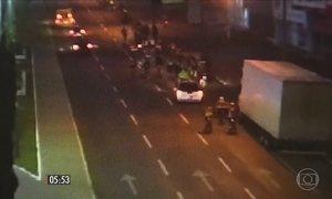 Motorista atropela grupo de ciclistas em Cascavel (PR)