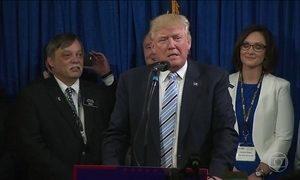 Trump consegue número suficiente para ser candidato à presidência