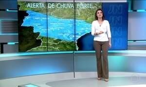 Previsão de chuva forte para o Sul e Sudeste nesta quarta (1)