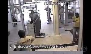 Quadrilha usa uniformes falsos para roubar bancos em Cuiabá