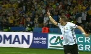 Alemanha estreia na Eurocopa com vitória sobre a Ucrânia