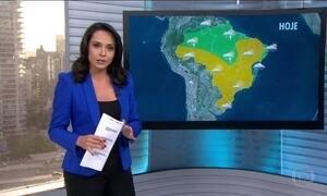 Confira a previsão do tempo nesta terça-feira (14) em todo o país