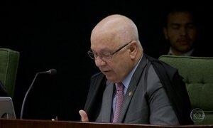Teori Zavascki nega pedido de prisão de Renan, Jucá e Sarney