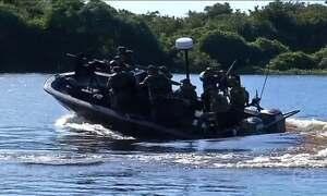Exército, Marinha e Aeronáutica participam da Operação Ágata