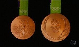 Medalhas da Olimpíada são apresentadas no Rio