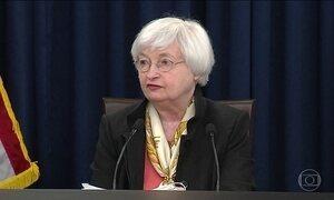 Banco Central Americano talvez não aumente juros no ritmo previsto
