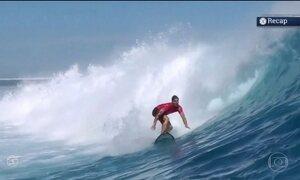 Gabriel Medina vence etapa do Mundial de Surfe nas Ilhas Fiji