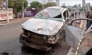 Motoristas bêbados têm causado acidentes com mortes nas grandes cidades