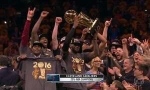 Cleveland conquista pela primeira vez o título da NBA