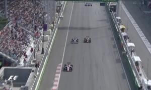 Adaptação dos pilotos na pista de rua de Baku chamou atenção na F1