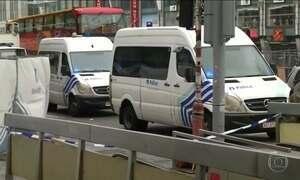 Alerta de bomba em centro comercial leva pânico à capital da Bélgica