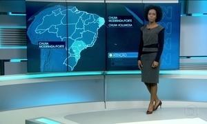 Quarta-feira (22) será de alerta de chuva forte, névoa e ressaca pelo Brasil