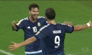 Argentina goleia EUA e está na final da Copa América Centenário