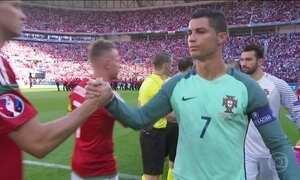 Craque Cristiano Ronaldo é destaque do dia na Eurocopa
