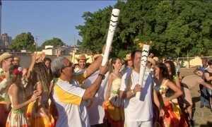 Chama olímpica chega a Mato Grosso