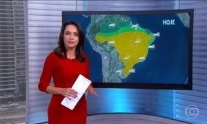 Previsão do tempo bom em grande parte do Brasil nesta sexta-feira (24)
