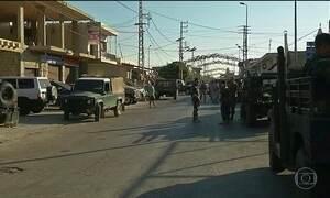 Líbano reforça segurança na fronteira com a Síria após atentados