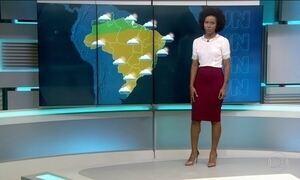 Chuvas devem atingir algumas regiões do Brasil nesta quarta-feira (29)