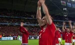 País de Gales vence a Bélgica e está semifinais da Eurocopa