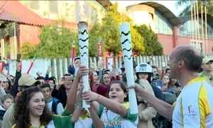 Tocha olímpica passa pelo Sul neste domingo (03)