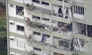 Relatório final de explosão em prédio no RJ aponta que não foi acidental