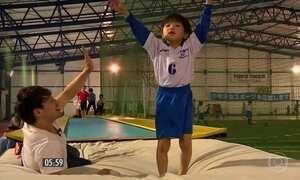 Talentos da ginástica são formados desde crianças no Japão