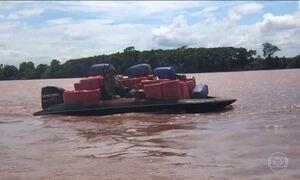 Suspeitos de contrabandear cigarros do Paraguai são presos