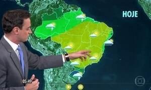 Confira como fica o tempo nesta quinta-feira (14)