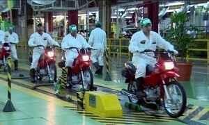 Vendas de motos continuam caindo e crise só deve acabar no fim do ano