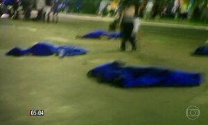 Ataque terrorista mata mais de 80 pessoas