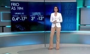 Previsão de chuva para litoral norte de São Paulo e Rio de Janeiro