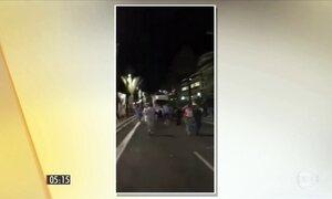 Polícia prende homem e mulher suspeitos de colaboração com ataque