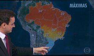 Semana começa com frio em parte do Brasil