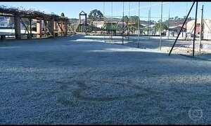 Nova onda de frio derruba temperaturas no Sul do país