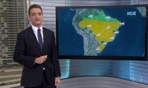 Sul do Brasil deve continuar registrando temperaturas mais baixas nesta terça-feira (19)