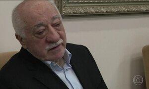 Turquia pede prisão e extradição de líder religioso exilado nos EUA