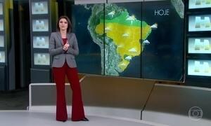 Previsão é de chuva no Paraná e São Paulo