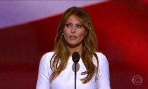 Esposa de Donald Trump é acusada de plagiar discurso de Michelle Obama