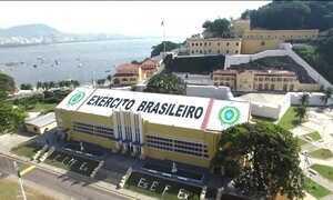 Base militar no Rio vai servir de casa para os atletas brasileiros