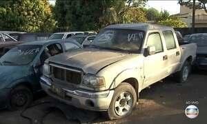 Carros brasileiros apreendidos na Bolívia vão a leilão