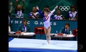 Ouro dos EUA na ginástica artística virou história de superação na Olimpíada de 1996