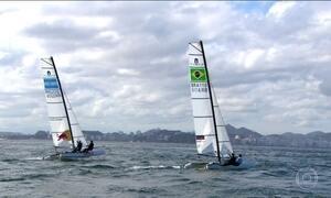 Velejadores são grandes apostas de medalhas para o Brasil na Olimpíada