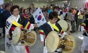 Movimento no Galeão continua alto com chegada de atletas e turistas