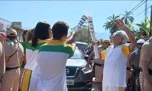 Tocha Olímpica se despede do estado de São Paulo